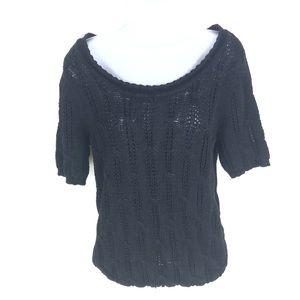 Calvin Klein Women's Black Sweater M